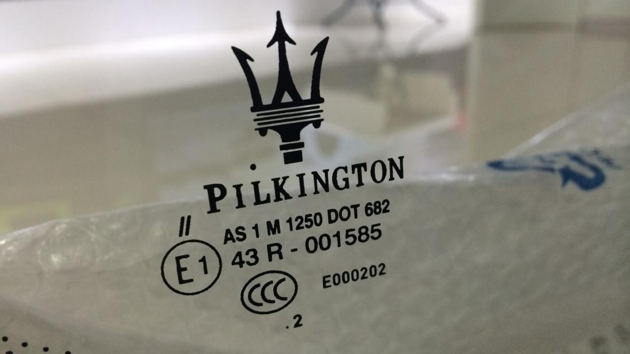 szélvédőcsere, Pilkington